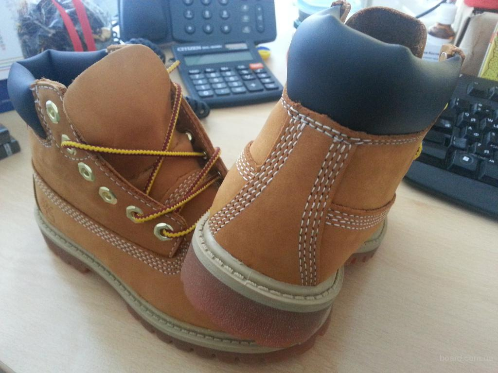 Новые оригинальные детские ботинки Timberland EUR 27 (17,5 cm по стельке)