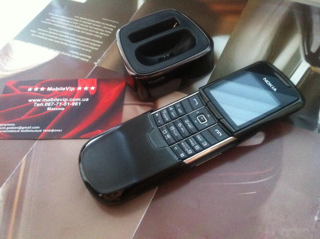 Nokia 8800 Classic Black UA UCRF Новый Гарантия