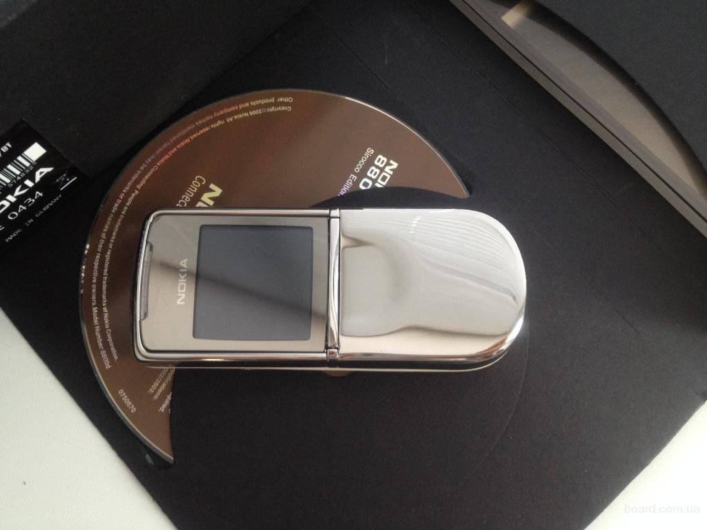 Nokia 8800 Sirocco Silver Original NEW