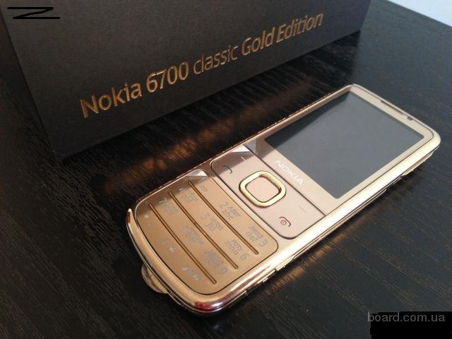 Nokia 6700 Gold Edition Оригинал Новый!