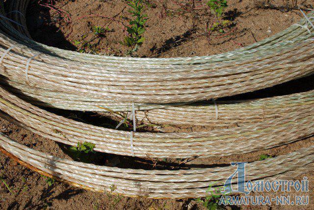 Стеклопластиковая арматура (композитная) д.4мм