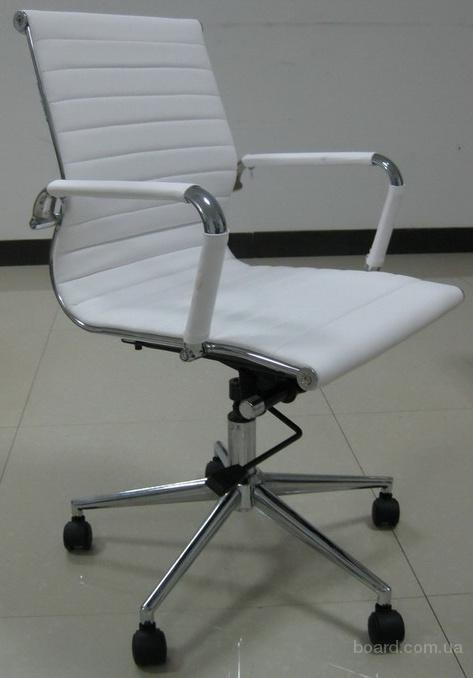 Купить офисное кресло Q-04MBT белое киев