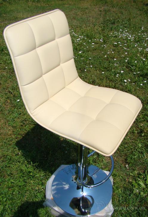 Высокий барный стул HY 358 бежевый