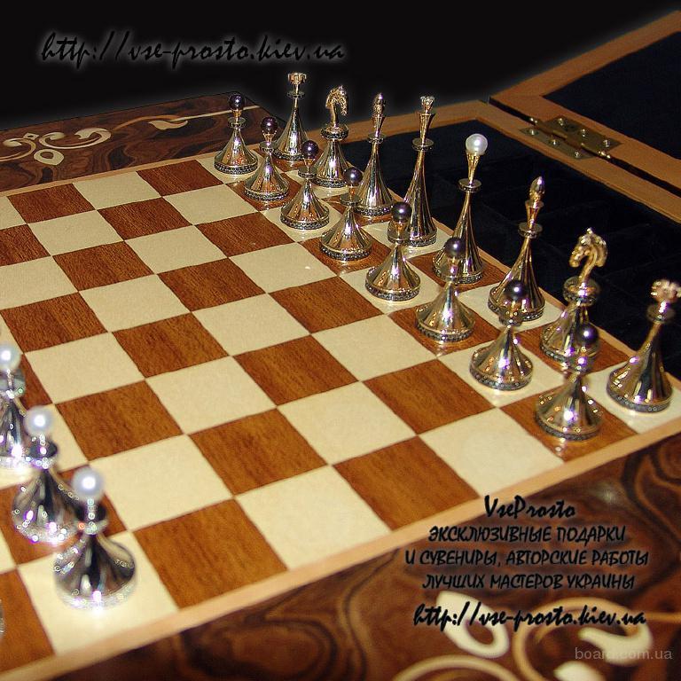 Авторские шахматы ручной работы