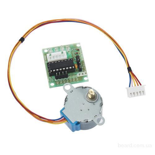Шаговый двигатель + драйвер ULN2003 для Arduino