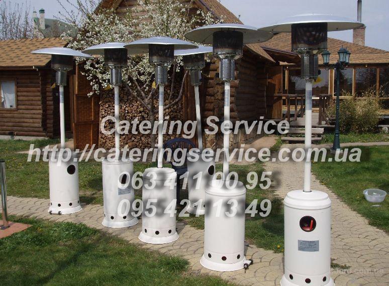 Аренда газовых обогревателей для открытых площадок в Запорожье