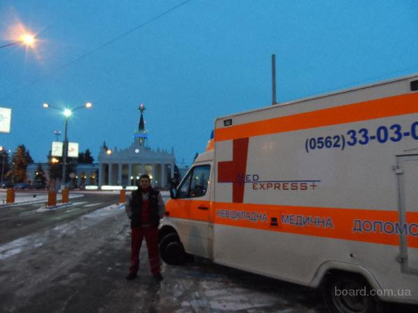 транспортировать больного из Санкт-Петер