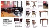Стулья, столы, диваны для КаБаРе