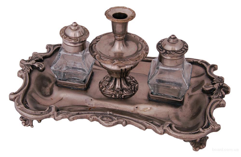 настольный чернильный прибор 19-го века