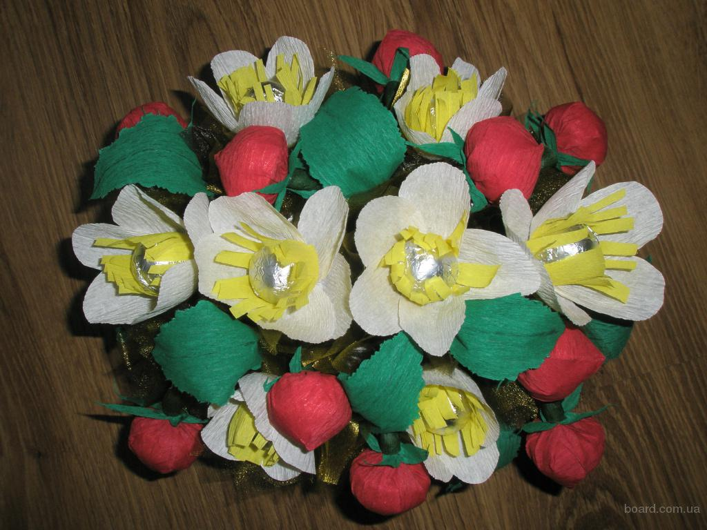 Букеты из конфет (Киев, Бровары) продам в Киев, Украина.(купить, куплю) - Сувенирная продукция на www.bizator.ru