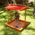 Песочница с крышкой,детская песочница