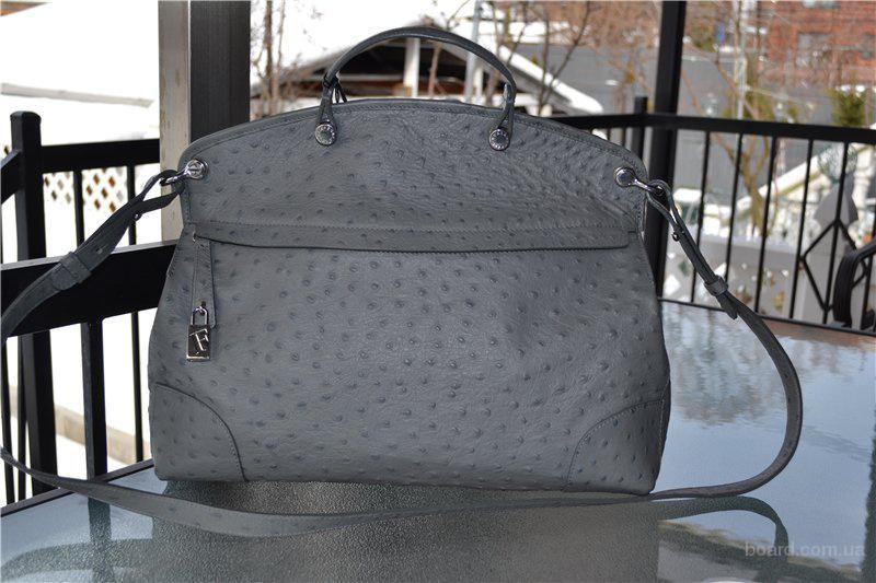 Сумка Furla Gray leather Piper, оригинал