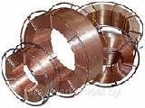 Сварочная проволока Св08Г2С 0,8мм, 1,0мм, 1,2мм, 1,6мм - омедненная и неомедненная, на катушках или мотками
