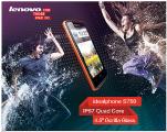 Смартфон Lenovo S750 умеет нырять под воду. Не веришь? Смотри!!