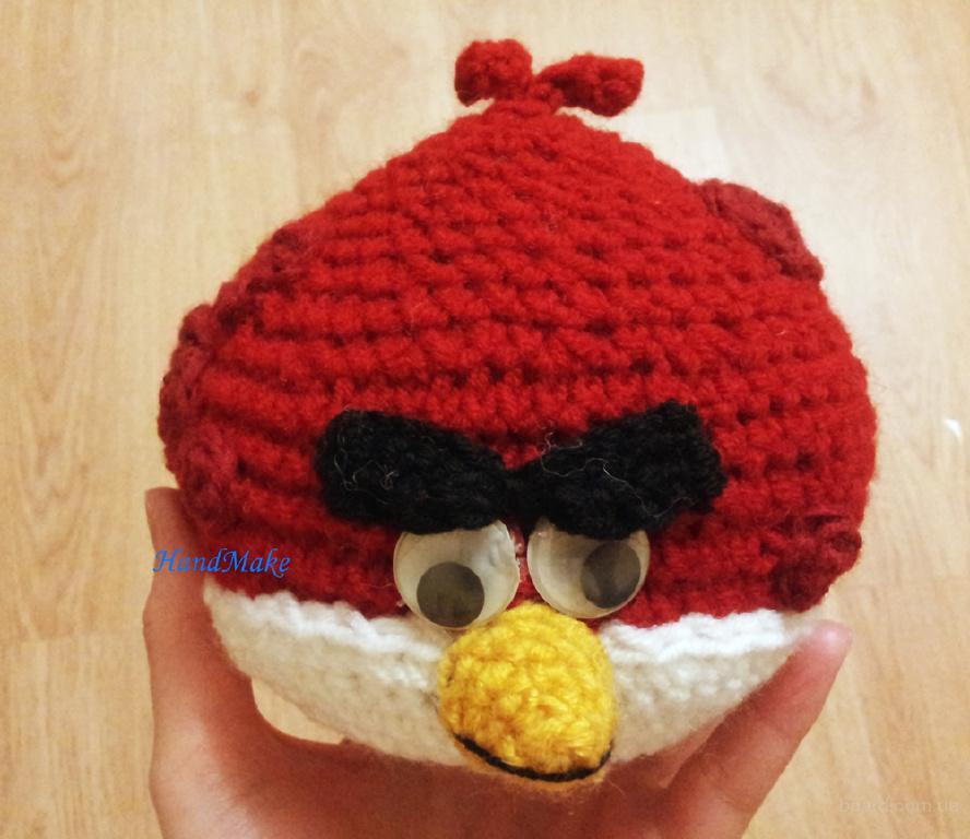 Большой брат Теренс, вязаная игрушка Angry Birds