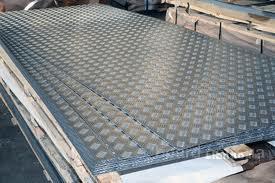Алюминиевый лист рифленый 2