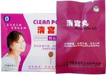 Clean Point  женские тампоны для очищения матки