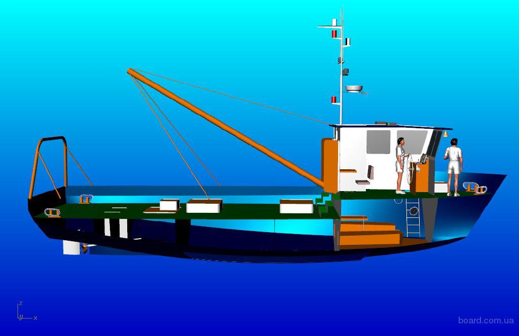 Новый рыбопромысловый бот - поставка 4 - 5 месяцев !