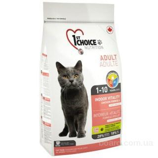 1st Choice (Фест Чойс) Курица виталити корм для кошек