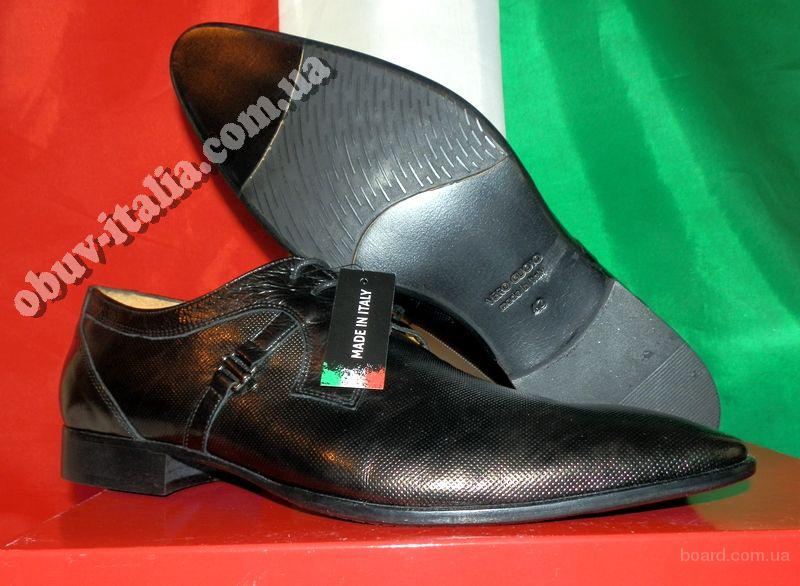 Туфли мужские кожаные Clare Morris оригинал Италия