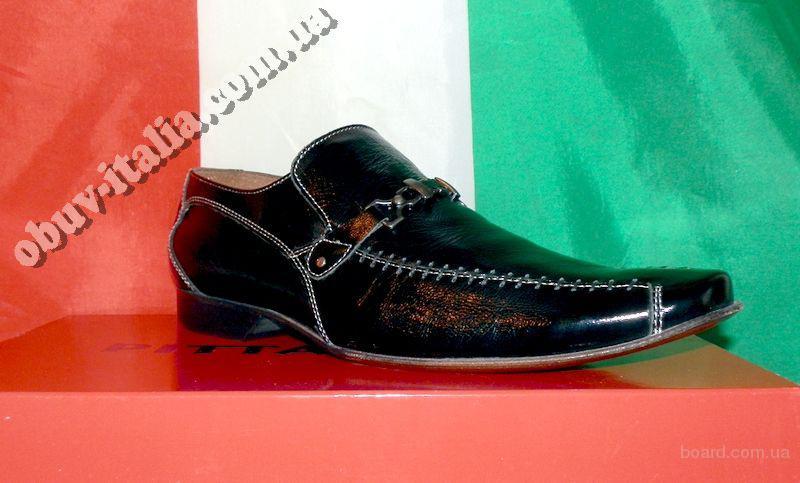 Туфли мужские кожаные Pittarello оригинал Италия