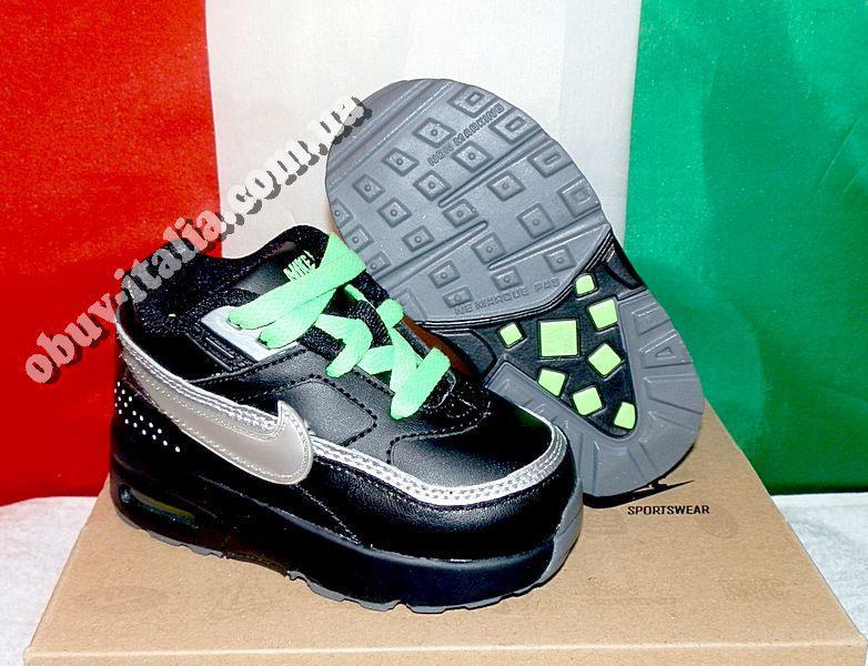Кроссовки детские кожаные NIKE Air Classic BW из Италии