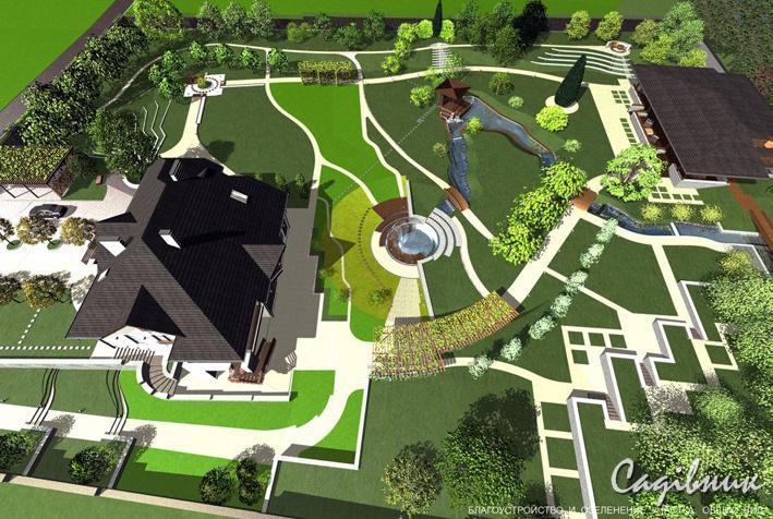Ландшафтный дизайн и озеленение