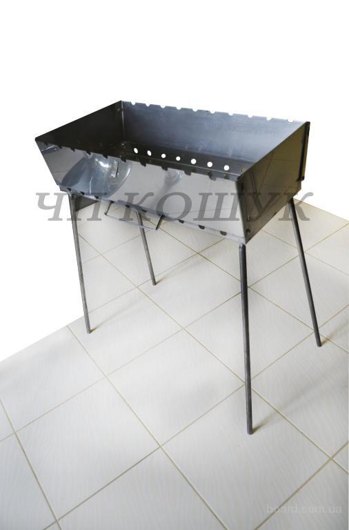 Мангал - чемодан из нержавеющей стали