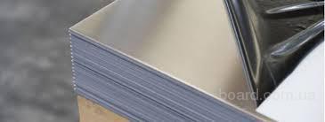 Лист нержавеющий пищевой AISI 304 (поверхность шлифованная – полиэтилен, бумага)