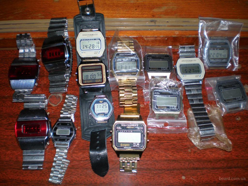 куплю часы электроника