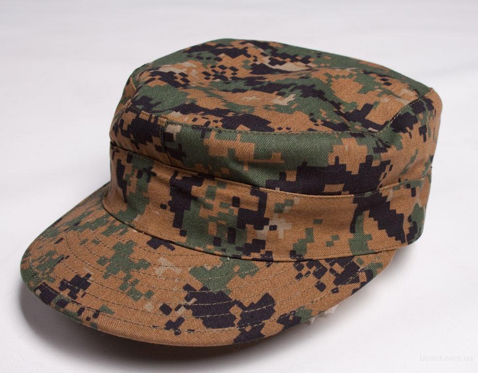 Новые камуфляжные кепки секонд опт