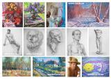 Уроки (обучение) живописи и рисунка в изостудии Днепропетровска.