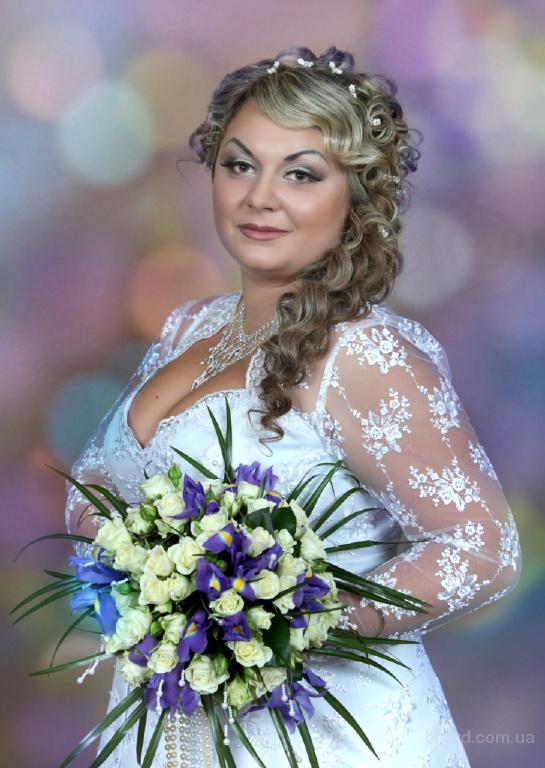 свадебные прически ирпень