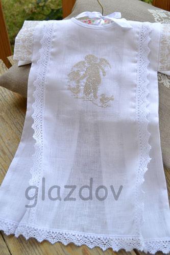 Рубашечка крестильная