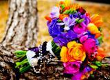 Свадебный букет, букет невесты на свадьбу+ бутоньерка для жениха в подарок.