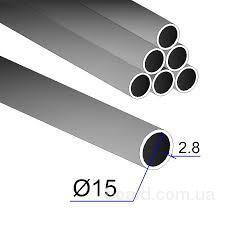 Труба Ду 15х2,8; 6,05 м