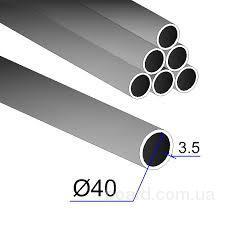 Труба Ду 40x3,5 мера