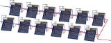 Термосифонная система RNB-Нерж 30 (3000 л/сутки) 60 чел.