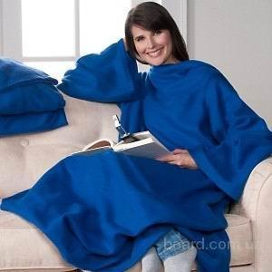 Плед флисовый  Snuggie Blanket, плед с рукавами