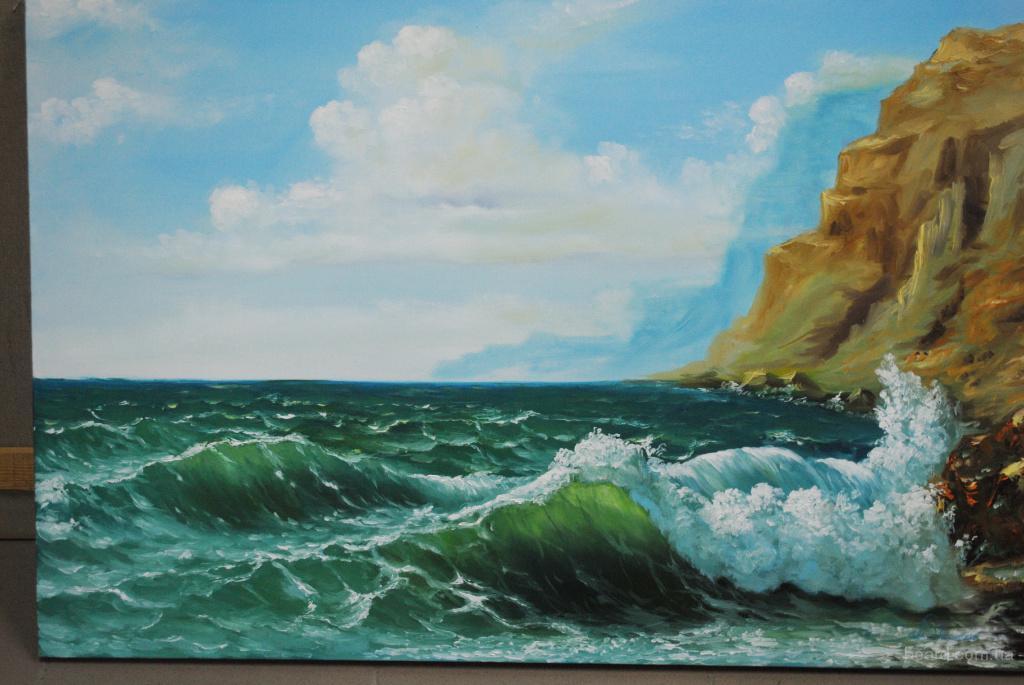 """картина """"Солнечный день на море"""""""