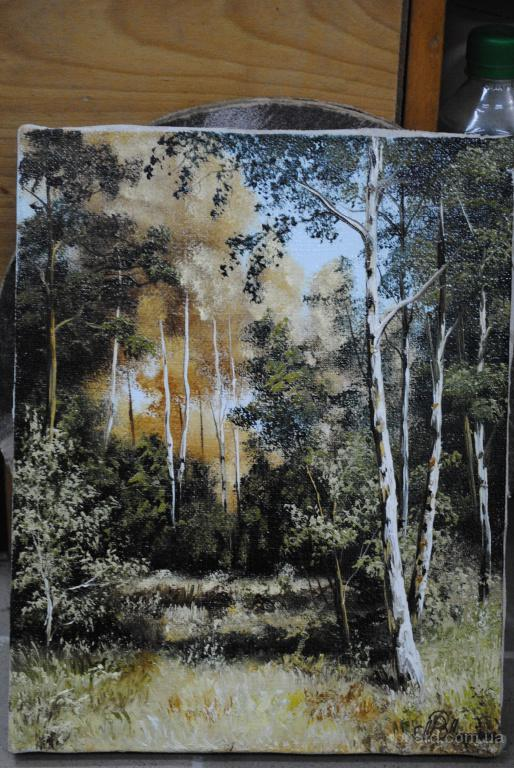 """картина """" Лесной пейзаж"""""""