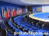 Прокат стульев конференционных с планшеткой (столиком