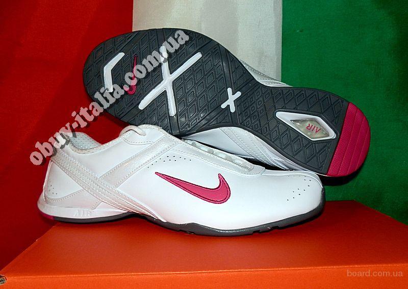 Кроссовки женские кожаные Nike Air Cardio III Lea оригинал