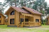 Современные деревянные дома, коттеджи, сауны из клееного бруса