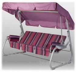 Пошив тентов, текстильных изделий для садовой мебели: скамеек, качелей, шезлонгов.