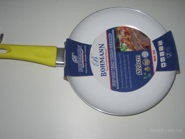 """""""Акция -55%"""" Сковорода с керамическим покрытием Bohmann 20см + Бесплатная доставка"""