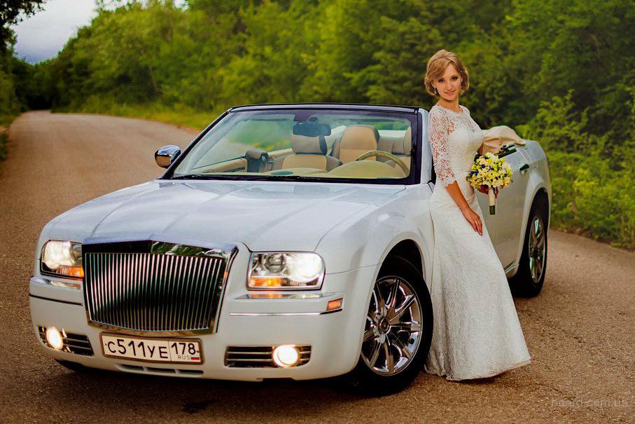 Эксклюзивные свадебные машины! Кабриолет Крайслер 300С, Экскалибур Фантом, Крайслер 300С стиль Бентли! В Севастополе,Симферополе,Ялте,Крыму!