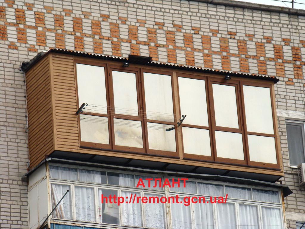 Расширение балконов и лоджий, ремонт балконов, фото 2 одесса.