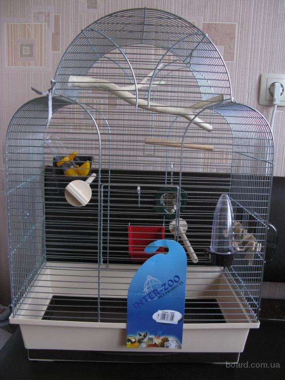 Новая клетка для попугая Inter-Zoo
