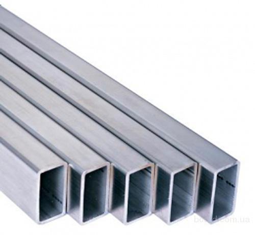 Трубы алюминиевые профильные квадратные, прямоугольные из сплавов АД31 (ENAV-6060), АД31Т1  (ENAV-6063)